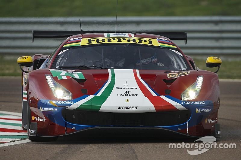 Ferrari: ecco lo shakedown della 488 GTE che ora è rossa metallizzata!