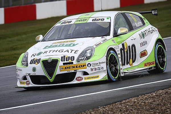 Austin tops BTCC pre-season test with new Alfa Romeo