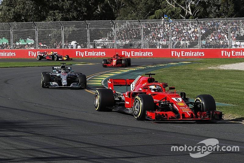 إحصائيات من سباق جائزة أستراليا الكبرى 2018