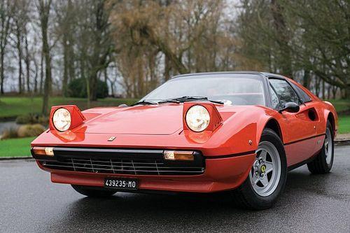 """All'asta la Ferrari di Villeneuve del """"record"""" Montecarlo-Maranello"""