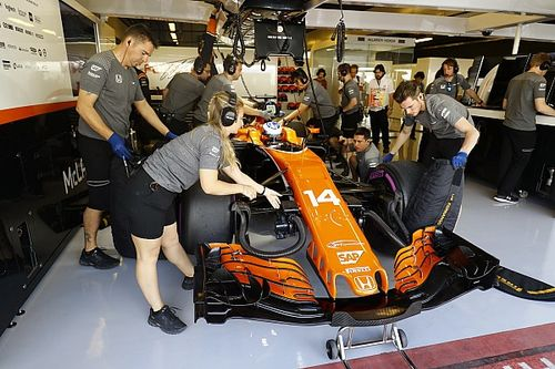 Formel 1 2017 in Abu Dhabi: Ergebnis, 1. Training
