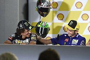 """Morbidelli: """"No creo que Rossi me explique las cosas como hacía antes"""""""