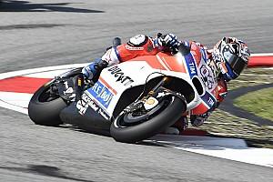 MotoGP Crónica de test Dovizioso aumenta su presión con su mejor tiempo en el warm up