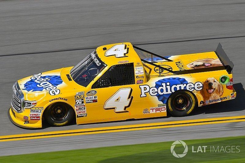 David Gilliland takes pole position for NASCAR Truck opener at Daytona
