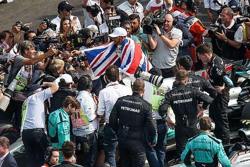 Lewis Hamilton le agradece a sus fans vía Instagram