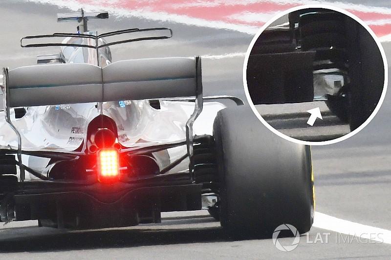 VIDEO: Por qué perdió rendimiento Hamilton con el daño en el difusor