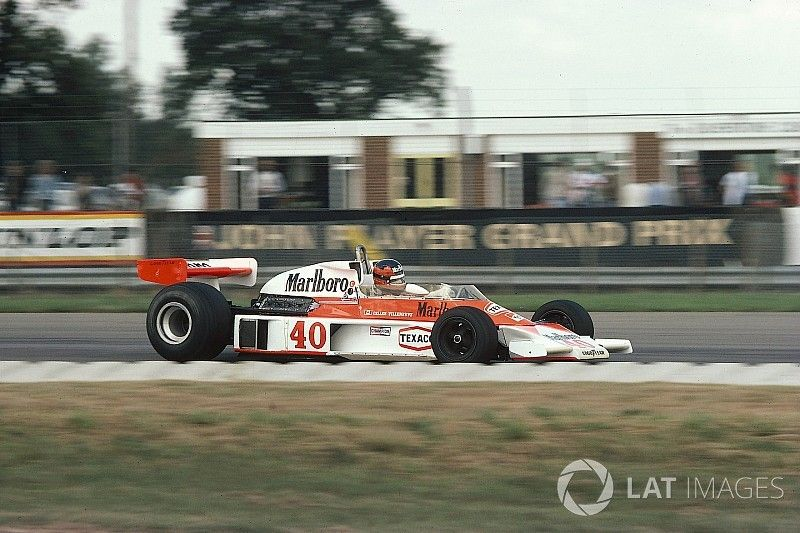 When Gilles Villeneuve contested his first Grand Prix with McLaren in 1977