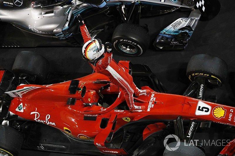 Estadísticas: Vettel gana su arranque 200 de un GP