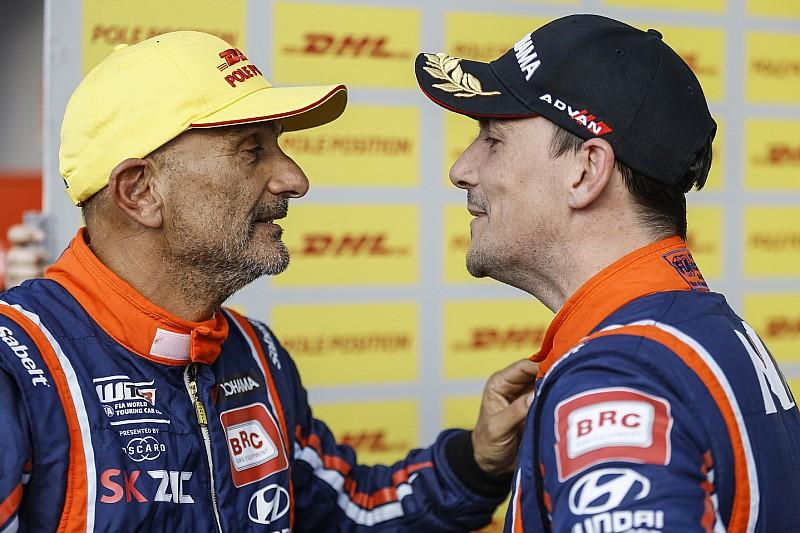Michelisz és Tarquini is örömmel nyújt segítő kezet a másiknak, ha úgy alakul