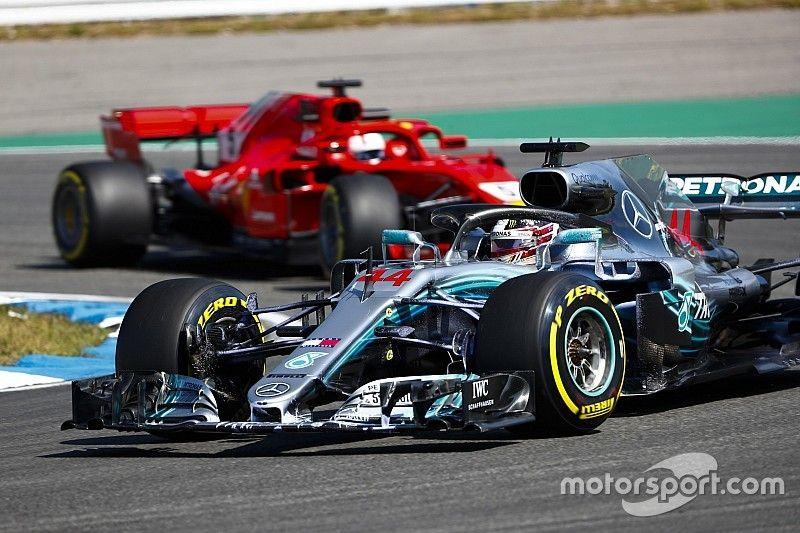 The tech war fuelling the Mercedes/Ferrari battle