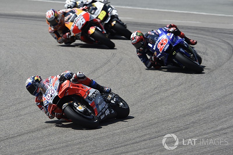 "Dovizioso ""more worried"" about Yamaha than Marquez"