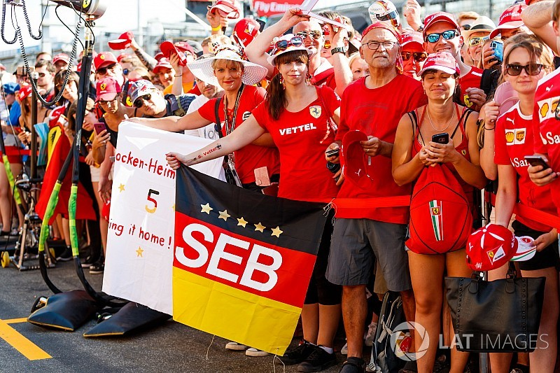 German GP: Top photos from Thursday