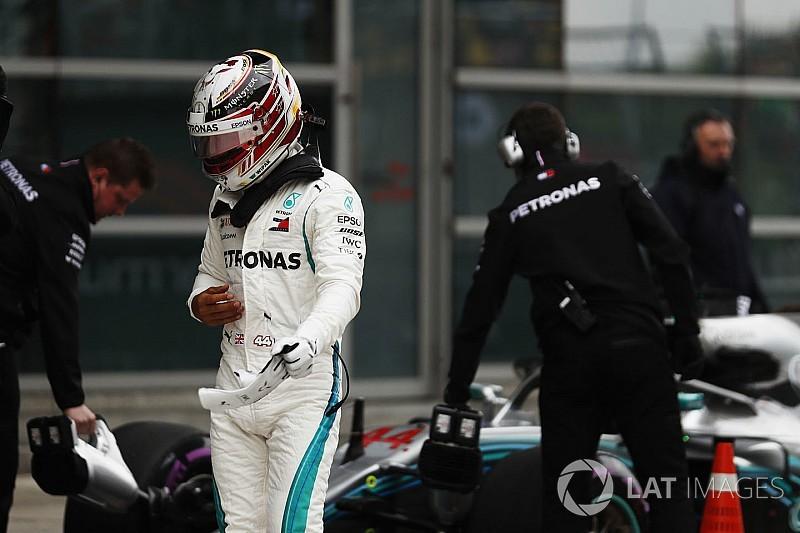 """Hamilton: """"El Ferrari va bien en cualquier situación. No sé cuánto durará eso"""""""