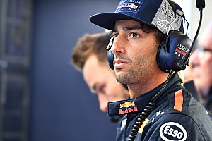 Ricciardo underwent lip surgery before Baku