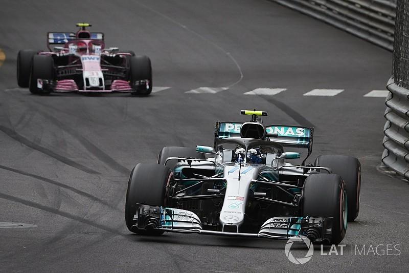 Force India: Ocon, Vettel ve Ricciardo olsaydı da geçmesine izin verirdi