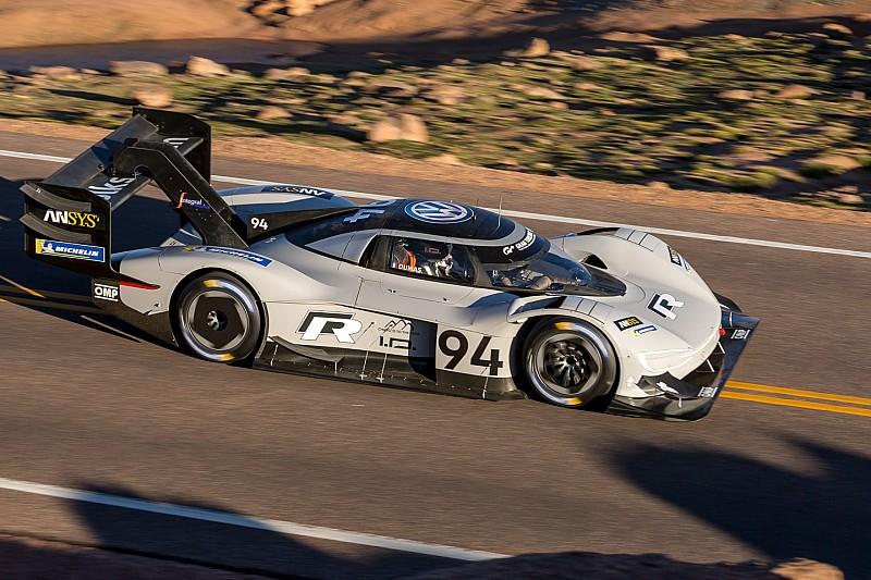 Volkswagen I.D. R Pikes Peak mit Bestzeit im Qualifying