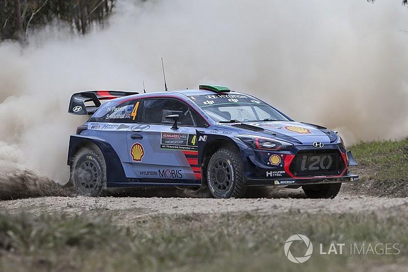 Hyundai: ecco il programma gare nel WRC 2018 di Sordo e Paddon