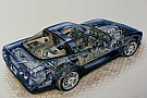 Automotive Corvette ZR-1 Kimble cutaway: America's first mainstream supercar