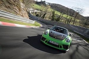 Video: Ronderecord Nordschleife voor nieuwe Porsche 911 GT3 RS