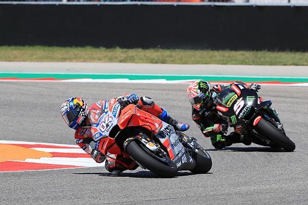 MotoGP Dovizioso: Austin confirms Ducati weakness
