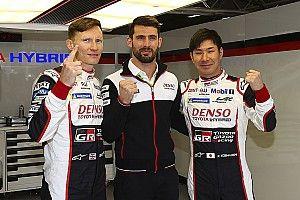 Pole de Toyota y fuerte accidente de Fittipaldi en Spa