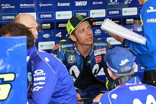 """Des progrès? """"Peut-être pour la 2nde partie"""" de la saison, pour Rossi"""