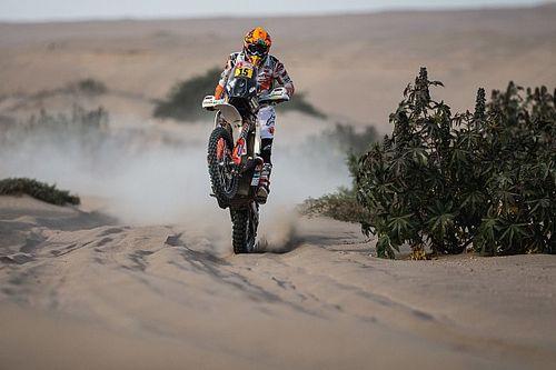 Espanhola atropela lhama, mas tem melhor colocação no Dakar