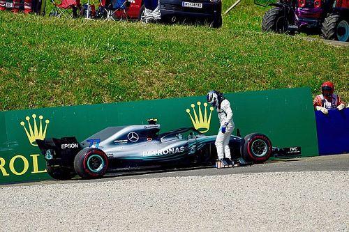 Bottas kiest uit voorzorg voor nieuwe motor in Silverstone