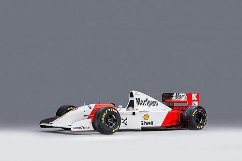 Fotostrecke: Auktion von Sennas McLaren MP4/8A