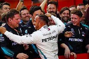"""F1 突发新闻 梅赛德斯:汉密尔顿续约谈判""""几乎都妥了"""""""