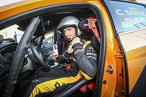 WRC Breaking news Sainz: Dad warned me