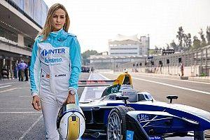 Vídeo: Carmen Jordá al volante de un monoplaza de Fórmula E