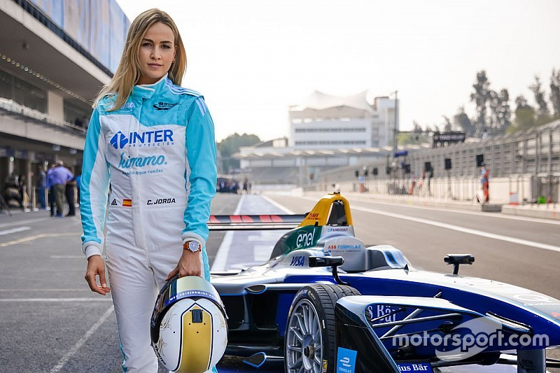 Video: Watch Carmen Jorda in her maiden Formula E test