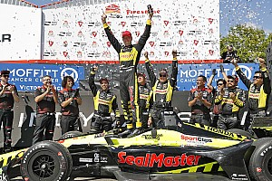 IndyCar Race report St. Pete IndyCar: Bourdais steals win after Wickens and Rossi clash