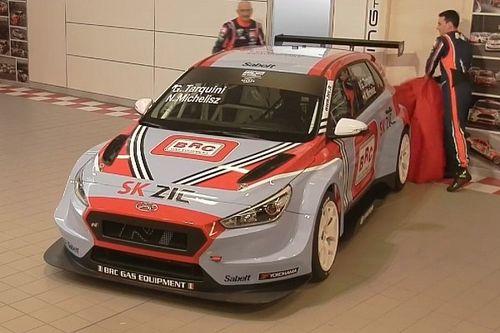 Tolti i veli alla Hyundai i30 N TCR del BRC Racing Team a Cherasco