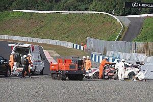 予選でクラッシュ、病院に搬送の石川京侍は大事なし。しかし決勝は欠場