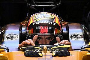 Sainz diz que sua estreia na Renault o surpreendeu