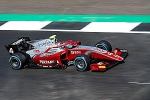F2 Spa-Francorchamps: De Vries rengkuh pole, Gelael ke-18