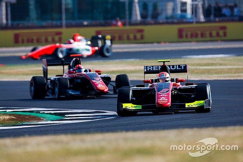 Silverstone GP3: Hubert takes maiden pole