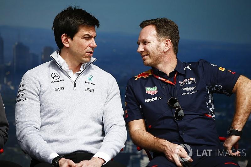 """Wolff: """"Red Bull debe autoculparse por el límite de tres motores"""""""