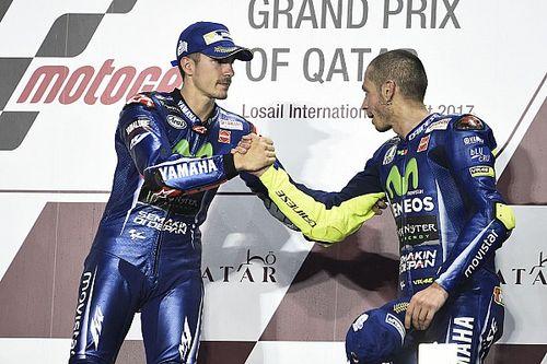 Vinales sempat khawatir bakal disalip Rossi
