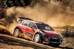 WRC Breaking news Loeb has