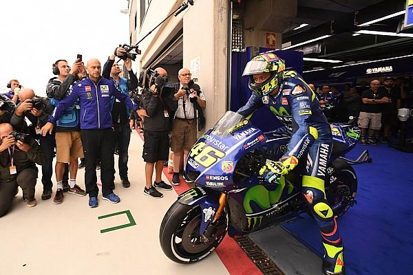 MotoGP Breaking news Rossi needs dry running to be certain of racing