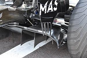 Williams: c'è un flap verticale sul bordo esterno del diffusore