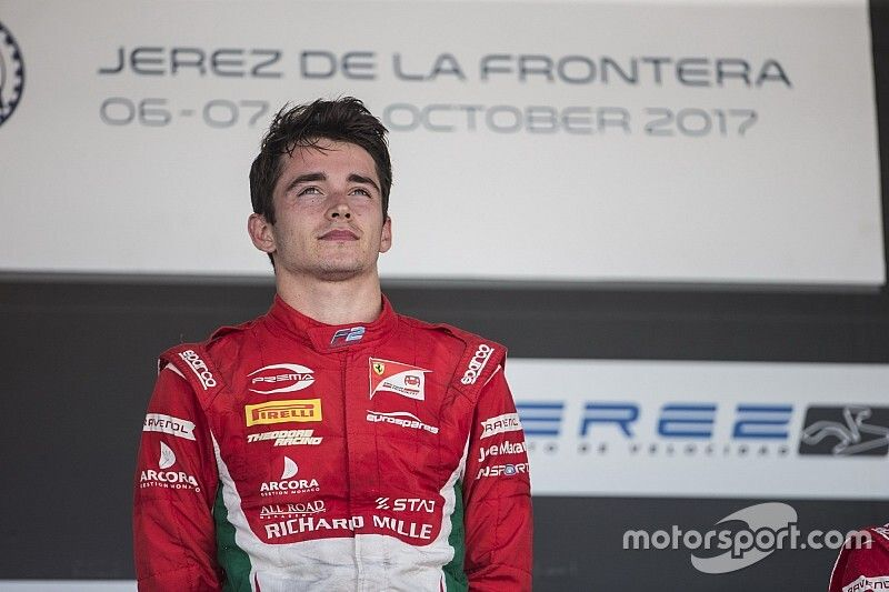 The year Leclerc fully revealed his star status