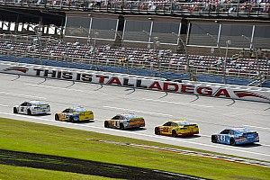Keselowski wins Stage 1 at Talladega; McMurray crashes out early