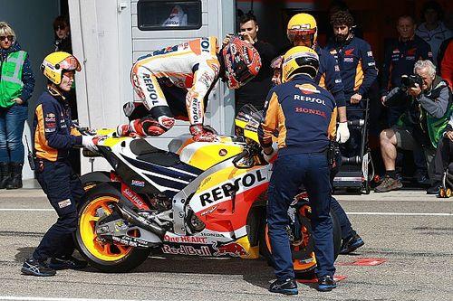 Un nouveau châssis à Brno pour Márquez et Pedrosa