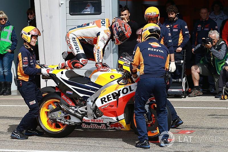 Prosedur baru flag-to-flag MotoGP tetap diberlakukan