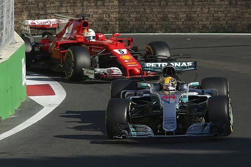 VÍDEO: Há 3 anos, Vettel batia em Hamilton de propósito em Baku; relembre