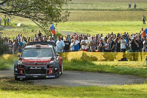WRC Duitsland: Mikkelsen leidt halverwege tweede dag